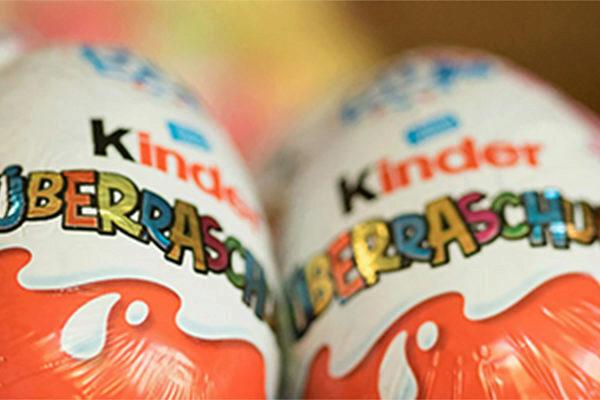 Kinder candy