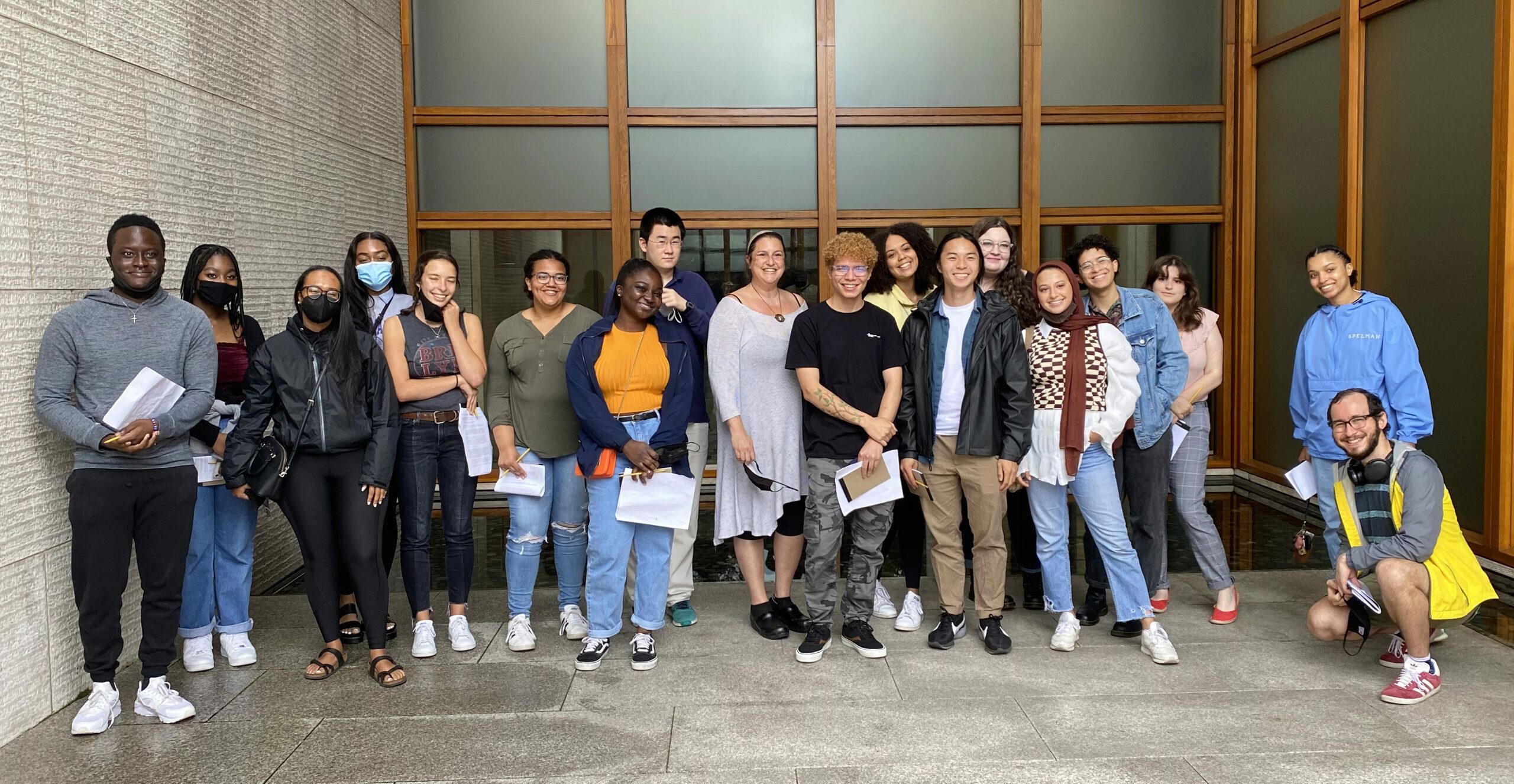 Group Photo of Students from the Summer Undergraduate Internship Program